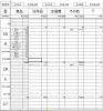 ザックリ家計簿シート