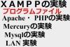 """XAMPPの実験""用プログラム・データ"