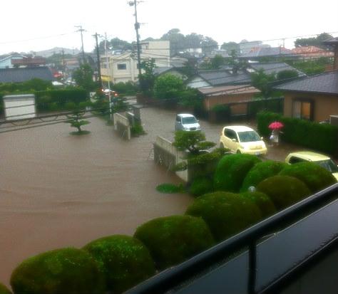 経験のないような大雨!?