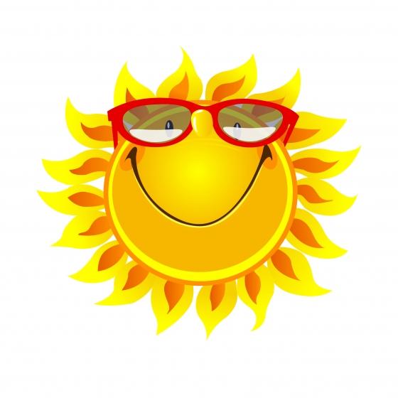 太陽イラスト